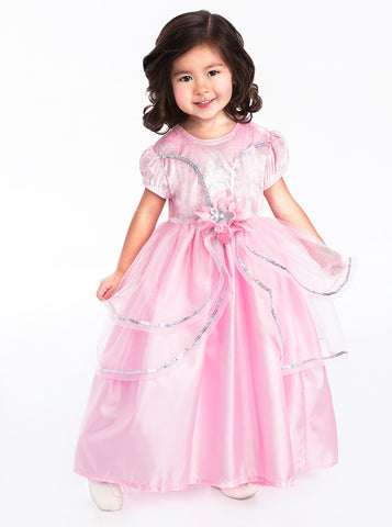 Little Adventures Royal Pink Princess Girls Costume