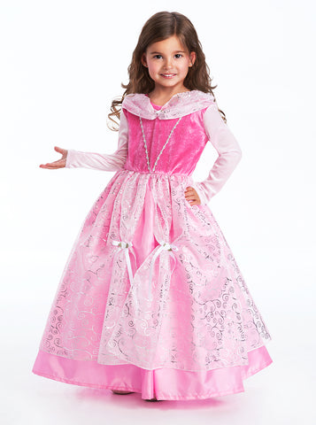 Little Adventures Deluxe Sleeping Beauty Girls Costume