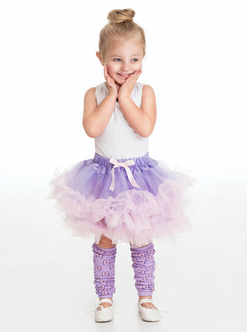 Little Adventures Lilac and Pink Fluffy Girls Tutu