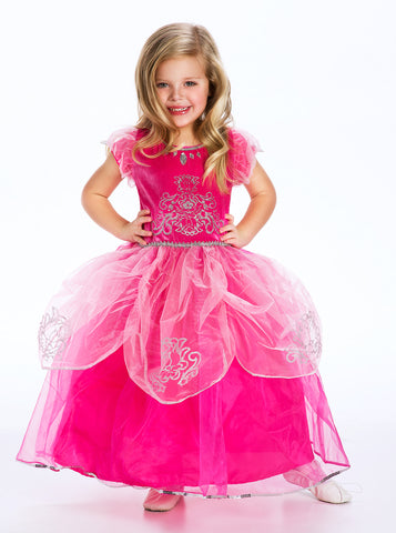 Little Adventures 5 Star Pink Princess Girls Costume