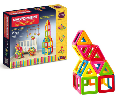 Magformers My First 30 Piece Set | KidzInc Australia | Online Educational Toys