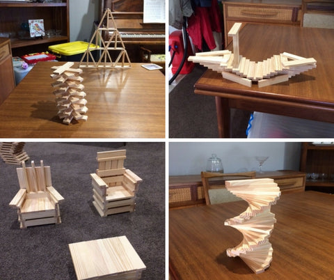 Kapla Planks Structures | Kidzinc Australia | Online Educational Toy Shop