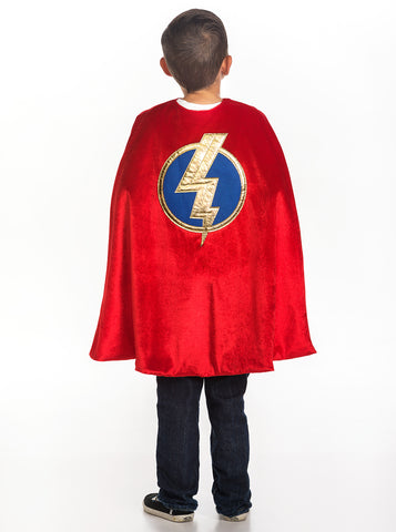Little Adventures Red Hero Boys Cape | KidzInc