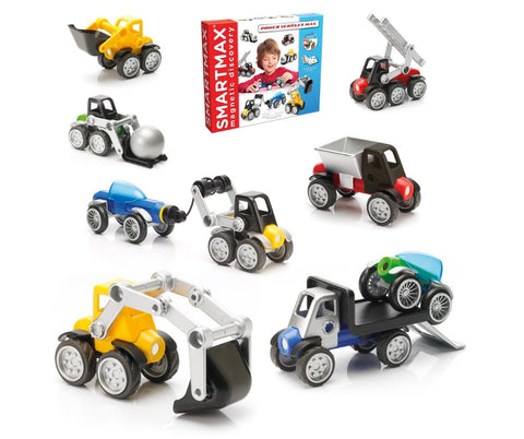 SmartMax Magnetic Discovery Power Vehicles Mix | KidzInc Australia | Online Educational Toys
