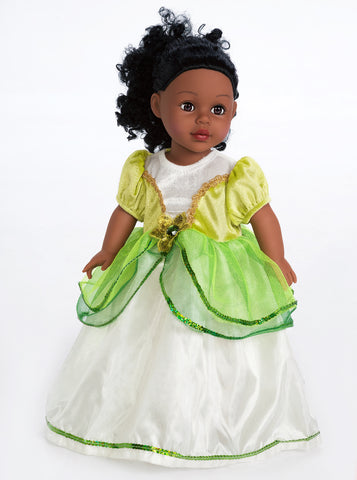 Little Adventures Lily Pad Princess Doll Dress | KidzInc