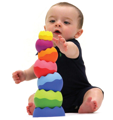 Fat Brain Toys Tobbles Neo Stacking Toy