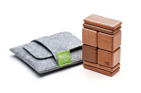 Tegu Pocket Pouch Original Mahogany | KidzInc Australia | Online Educational Toy Shop