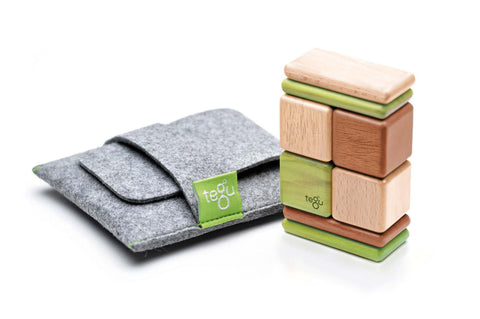 Tegu Pocket Pouch Magnetic Blocks