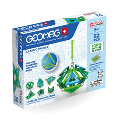 Geomag-green-recycled-plastic-panels-52-pieces | KidzInc Australia