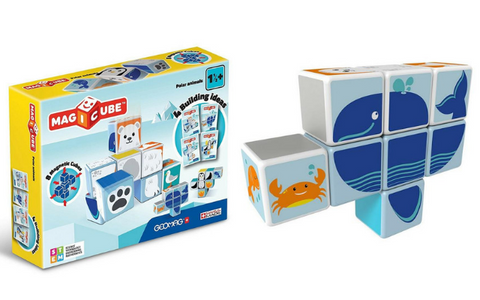 Geomag Magicube Polar Animals | KidzInc Australia | Online Educational Toys
