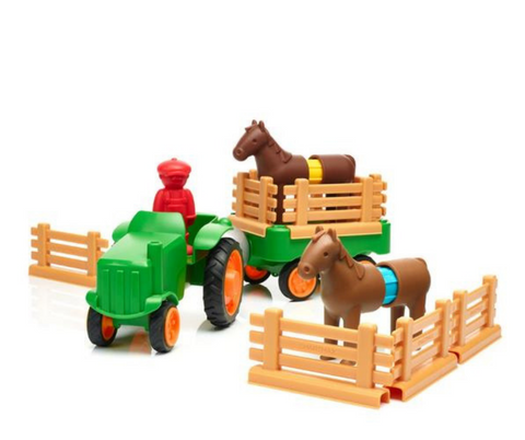 SmartMax Magnetic Discovery My First Tractor | KidzInc Australia | Online Educational Toys