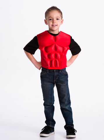 Little Adventures Red Power Boys Vest