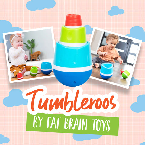 Benefits of Playing with Tumbleroos by Fat Brain Toys   KidzInc Australia
