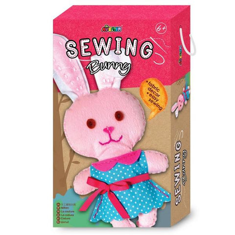 Avenir Sewing Bunny Kit | KidzInc Australia | Online Educational Toys