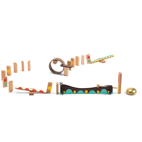 Djeco Zig and Go Action Reaction 25 Piece Set | KidzInc Australia | Educational Toys Online