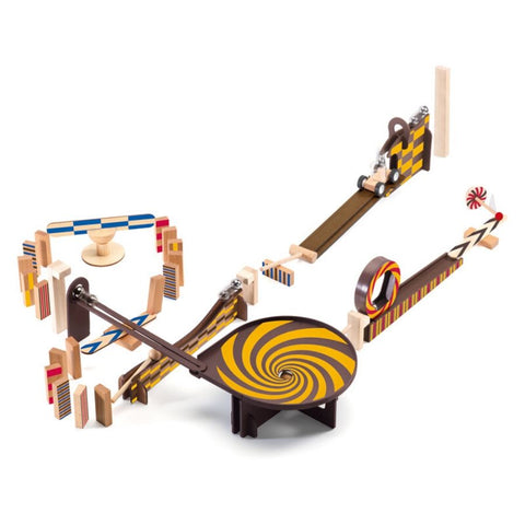 Djeco Zig and Go Action Reaction 45 Piece Set | KidzInc Australia | Educational Toys Online