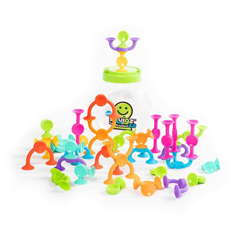 Fat Brain Toys Squigz 2.0 36 pieces | KidzInc Australia | Online Educational Toys