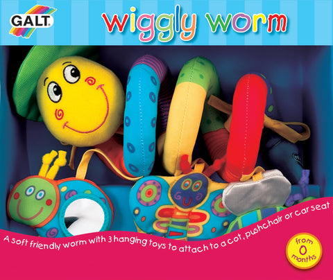 Galt - Wiggly Worm - Baby Toy