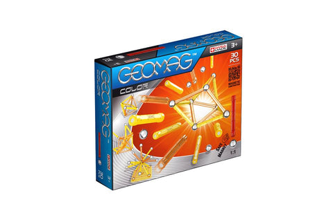 GeoMag Colour 30 Pieces | KidzInc Australia
