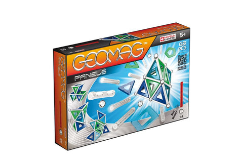 GeoMag Panels 68 Pieces | KidzInc Australia