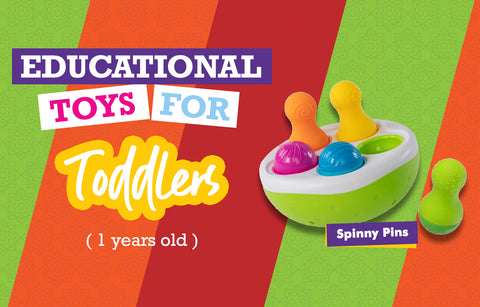 Educational Toys for One Year Olds - Spin Again