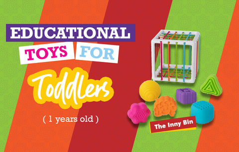 Educational Toys for One Year Olds - Inny Bin