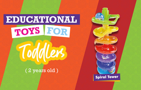 Educational Toys for Two Year Olds - Spiral Tower
