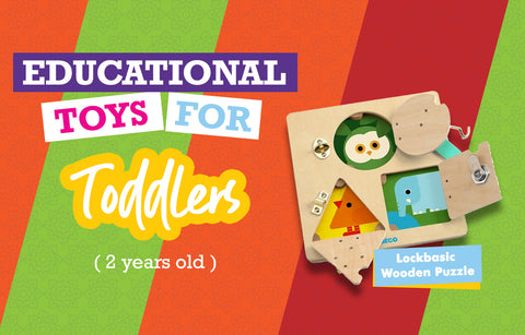 Educational Toys for Two Year Olds - Lock Basic