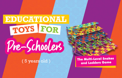 Educational Toys for 5-Year-Olds - Snakes and Ladders