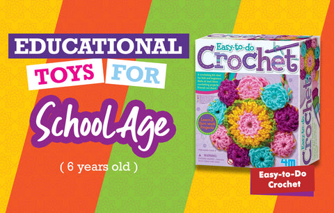 Educational Toys for Six Year Olds - Crochet