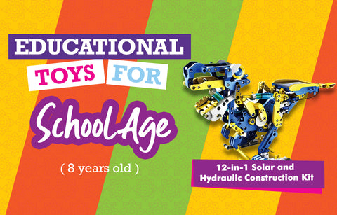 12 in 1 Solar Robot - Educational Toys 8 Yrs