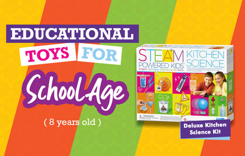 Educational Toys 8 Yrs - Deluxe Kitchen