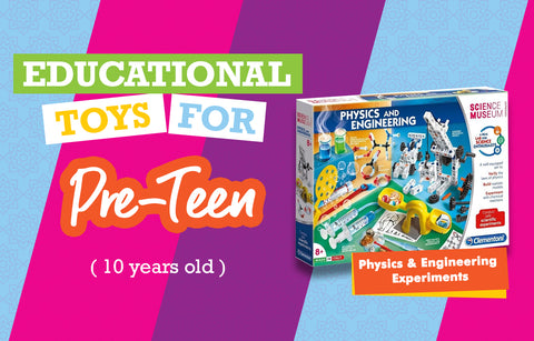 Educational Toys for 10 Year Olds - Engineering