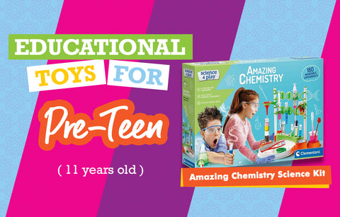 Educational Toys for 11 Year Olds - Chemistry