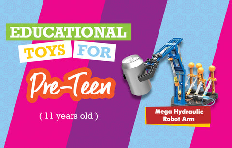 Educational Toys for 11 Year Olds - Robot Hand