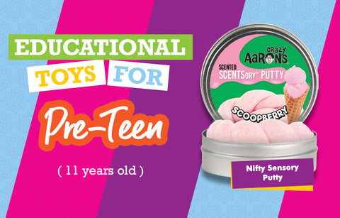 Educational Toys for 11 Year Olds - Putty