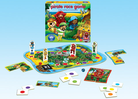 Orchard Toys Pirate Race Board Game | KidzInc