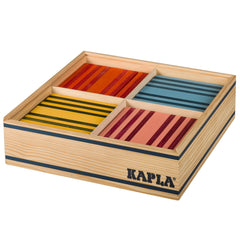 Kapla Planks Octocolour 100 Wooden Blocks | KidzInc Australia | Online Educational Toys