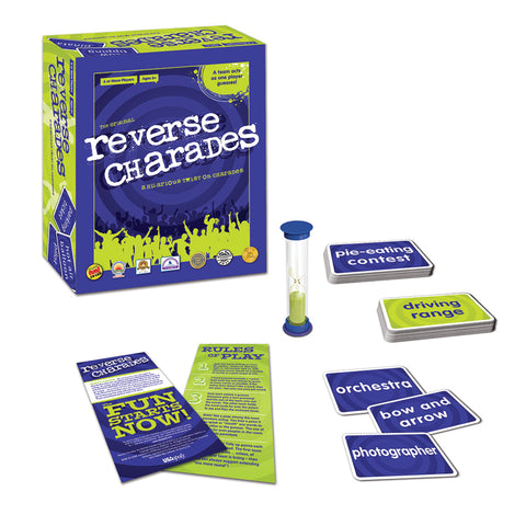 University Games Reverse Charades Board Game | KidzInc