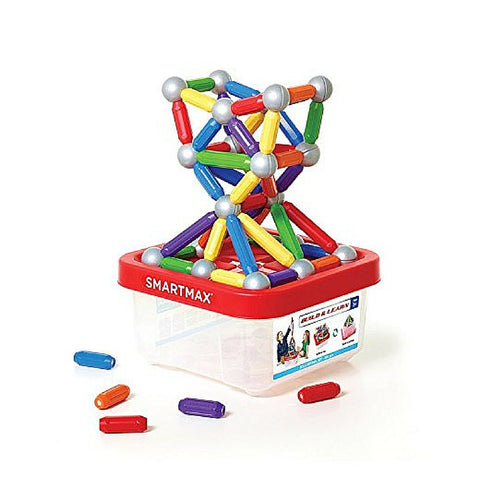 Smartmax magnetic discovery build and learn xxl 100 piece | KidzInc Australia