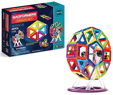 Magformers Creator Carnival Set of 46 pieces