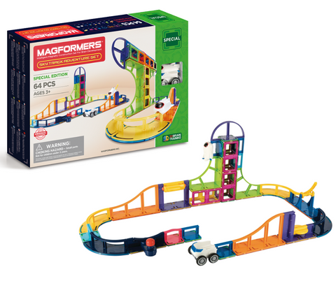 Magformers Special Edition Sky Adventure Set 64 Pieces | KidzInc Australia