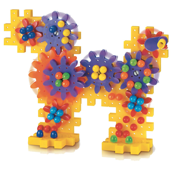 Quercetti - Georello Basic Gears 80 Pieces | KidzInc Australia | Online Educational Toy Store