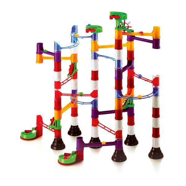 Quercetti - Super Marble Run 106 Pieces | KidzInc Australia | Online Educational Toy Store