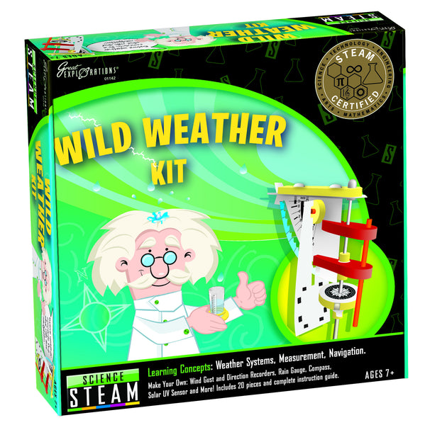STEAM - Science Wild Weather Kit | KidzInc Australia | Online Educational Toy Store