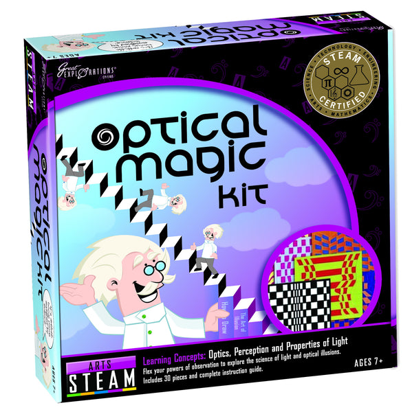 STEAM - Arts Optical Magic Kit | KidzInc Australia | Online Educational Toy Store