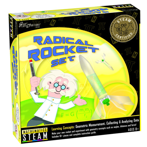 STEAM - Mathematics Radical Rocket Set | KidzInc Australia | Online Educational Toy Store
