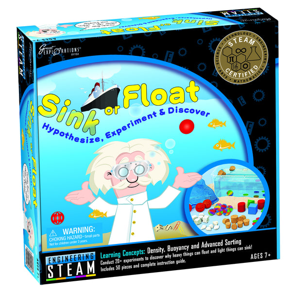 STEAM - Engineering Sink or Float | KidzInc Australia | Online Educational Toy Store