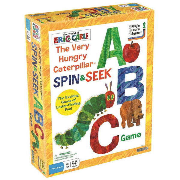 University Games - The Very Hungry Caterpillar Spin & Seek ABC Game | KidzInc Australia | Online Educational Toy Store