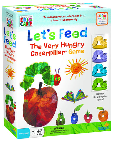 The World of Eric Carle - Let's Feed the Very Hungry Caterpillar Game | KidzInc Australia | Online Educational Toy Store